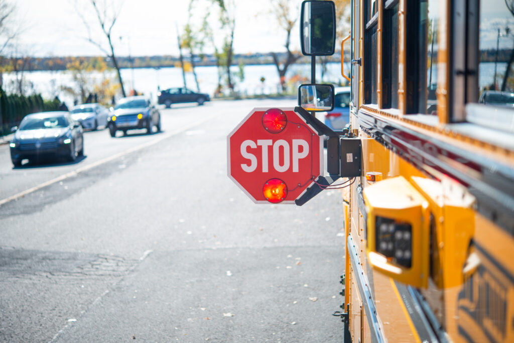 Harnett County Schools Unveils Smarter, Safer Buses to Protect Students at School Bus Stops and Enforce School Bus Stopping Laws